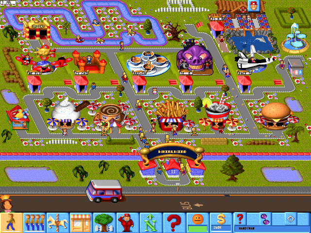 67800-theme-park-dos-screenshot-new-batch-of-children-just-arrived