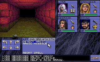 137179-eye-of-the-beholder-dos-screenshot-prepping-a-spell