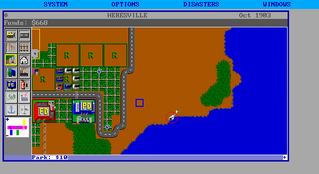 617852-simcity-dos-screenshot-helicopter