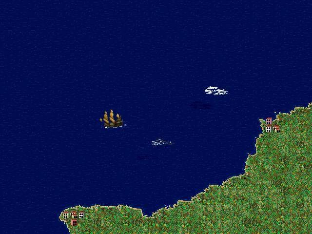 573-pirates-gold-dos-screenshot-sailing